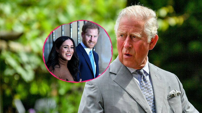 Vor Megxit: Charles hatte große Pläne für Harry und Meghan!