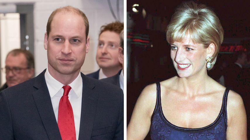 """""""Schmerz wie kein anderer"""": William spricht über Diana (†)"""