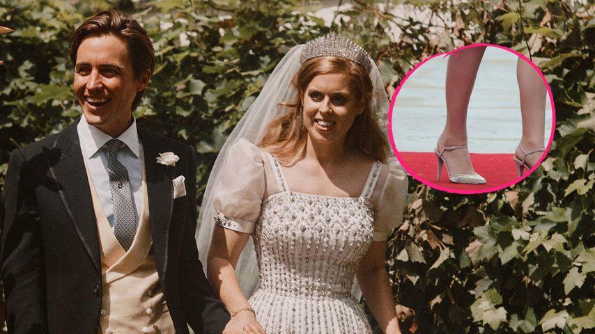 Gewusst? Prinzessin Beatrice recycelte ihre Brautschuhe