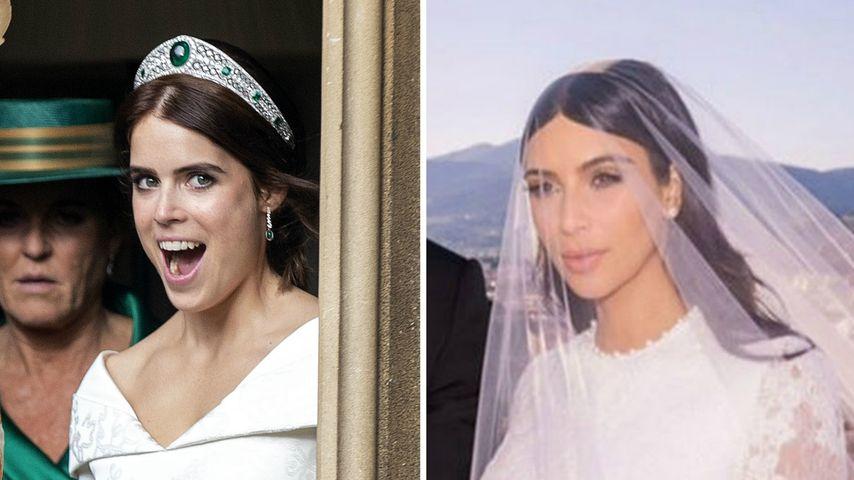Das haben Prinzessin Eugenies & Kim Ks Hochzeit gemeinsam!