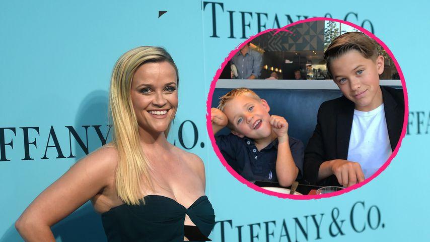 Stolze Mama: So hübsch sind die Söhne von Reese Witherspoon!