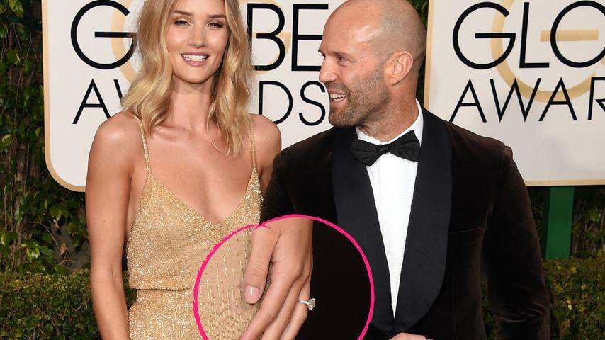 Mega-Klunker: Jason Statham und seine Rosie endlich verlobt!