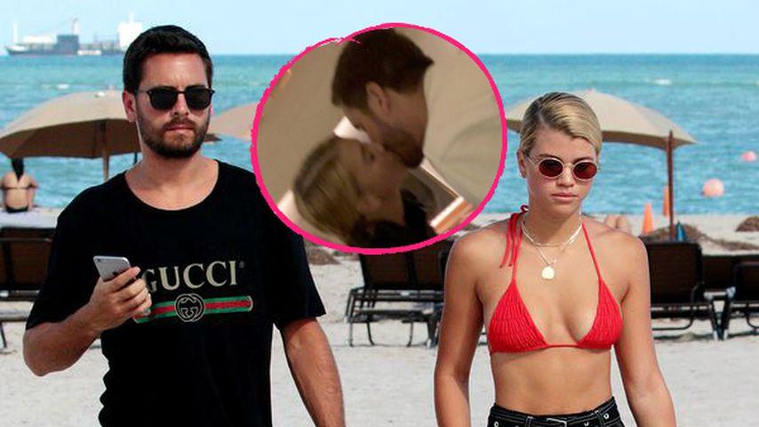 Total verliebt: Sofia Richie knutscht wild mit ihrem Scott