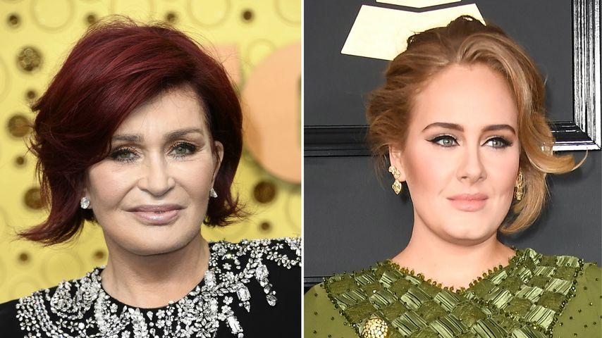 Nach Kilo-Verlust: Sharon Osbourne vergleicht sich mit Adele