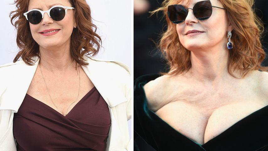 Von D zu Doppel-D mit 70: Neue Brüste für Susan Sarandon?