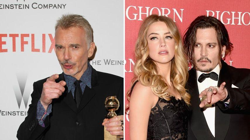 """Billy Bob Thornton wehrt sich: """"Kein Sex mit Amber Heard!"""""""