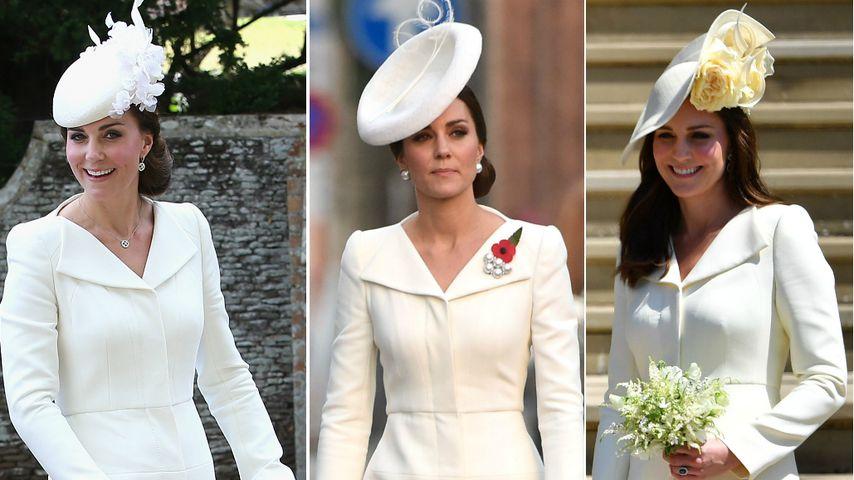 Zu Meghan & Harrys Hochzeit: Darum wählte Kate Recycle-Kleid