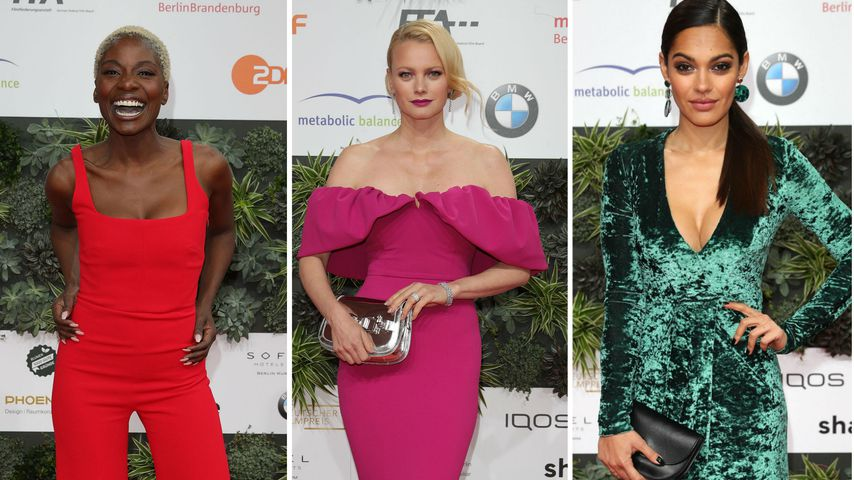Deutscher Filmpreis 2019: So farbenfroh waren die Outfits!