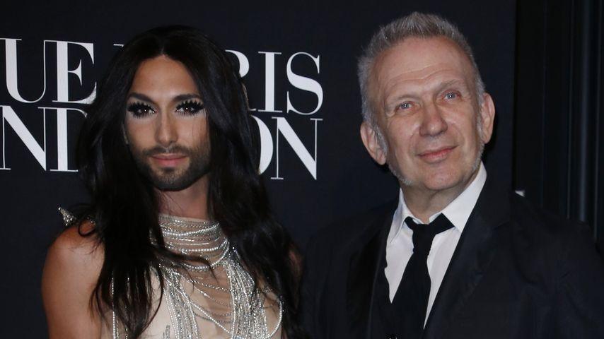 Gaultier begeistert: Conchita Wurst ist seine Muse
