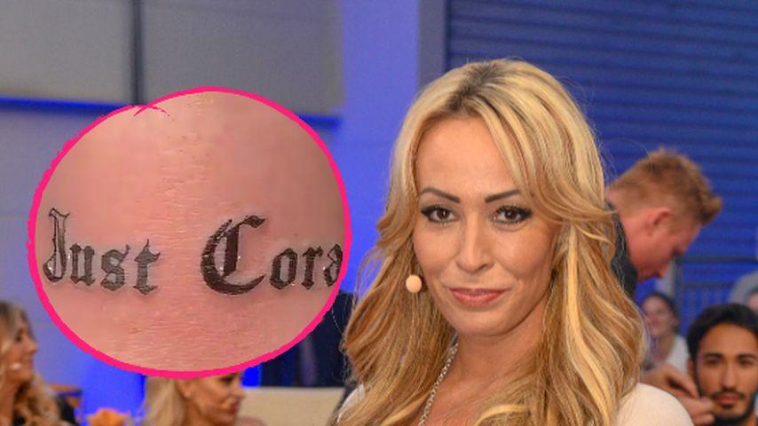 """""""Nur Cora"""": Neues Tattoo für Cora Schumacher nach Trennung"""