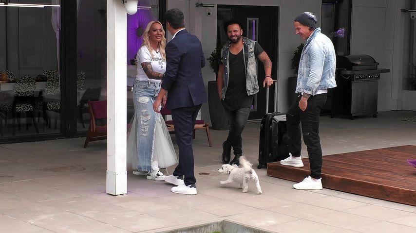 Cora Schumacher mit Marc, Vincenzo und Frank
