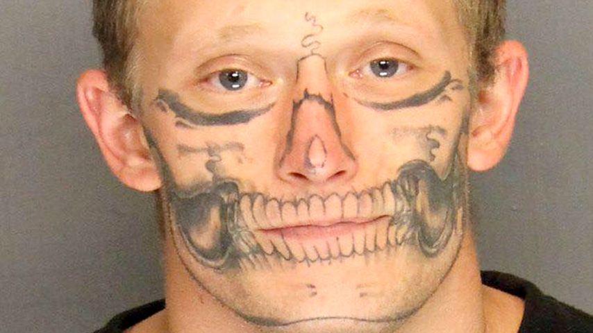 Wo ist der Totenkopf? Knacki mit Zombie-Tattoo ausgebüchst