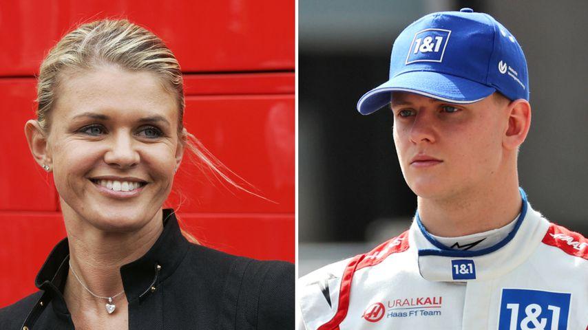 Zweites Rennen: Corinna Schumacher unterstützt Sohn Mick