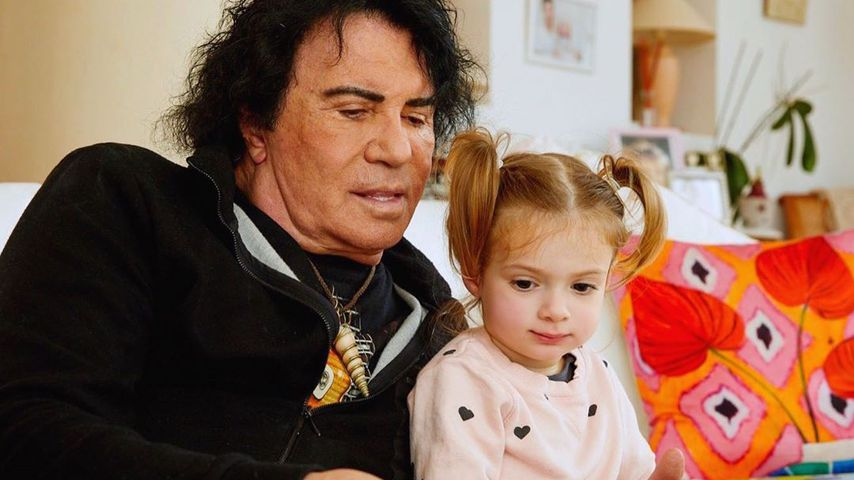 Costa Cordalis mit Enkelin Sophia