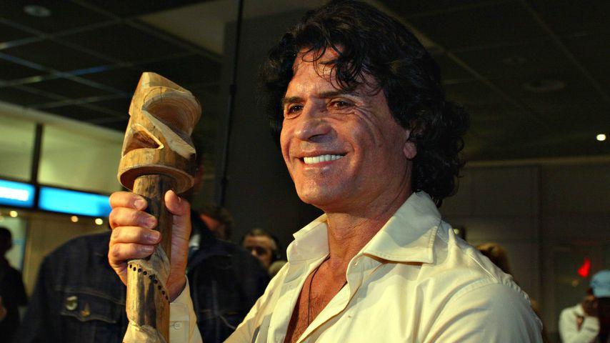 Costa Cordalis nach seinem Dschungelcamp-Sieg 2004