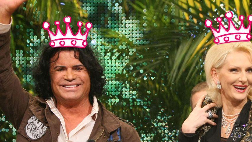 Wisst ihr's noch? Wer wurde alles Dschungelkönig?