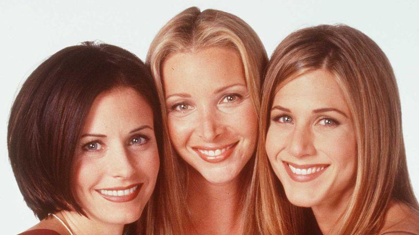 """Courteney Cox, Lisa Kudrow und Jennifer Aniston von """"Friends"""""""