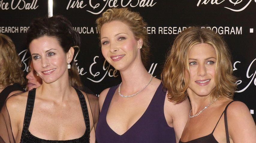 Courteney Cox, Lisa Kudrow und Jennifer Aniston in Beverly Hills, 2000