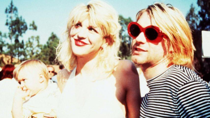 Courtney Love, Frances Bean und Kurt Cobain
