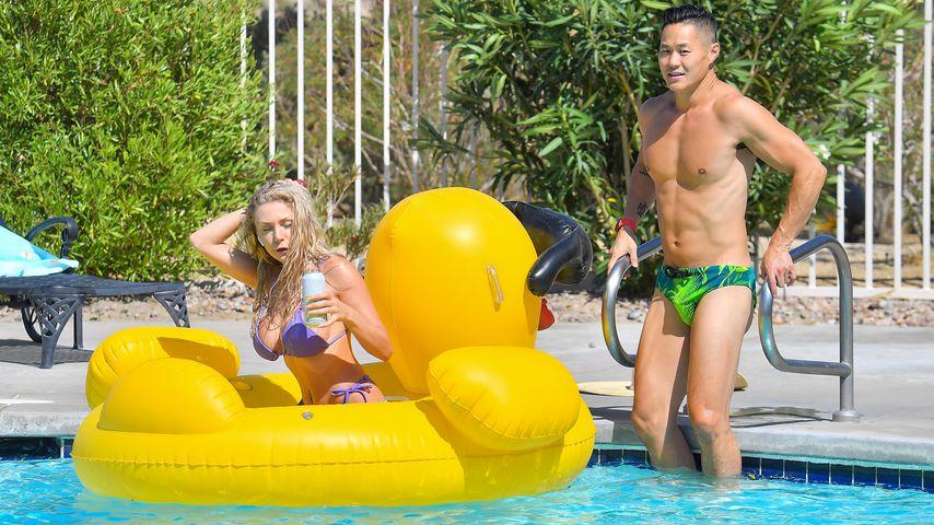 Courtney Stodden mit ihrem Verlobten Chris Sheng im Mai 2021