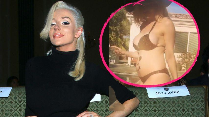 Nach Depressions-Beichte: Courtney Stodden zeigt Baby-Bauch!