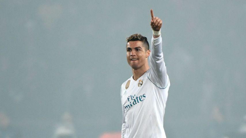 Cristiano Ronaldo beim Spiel in Paris