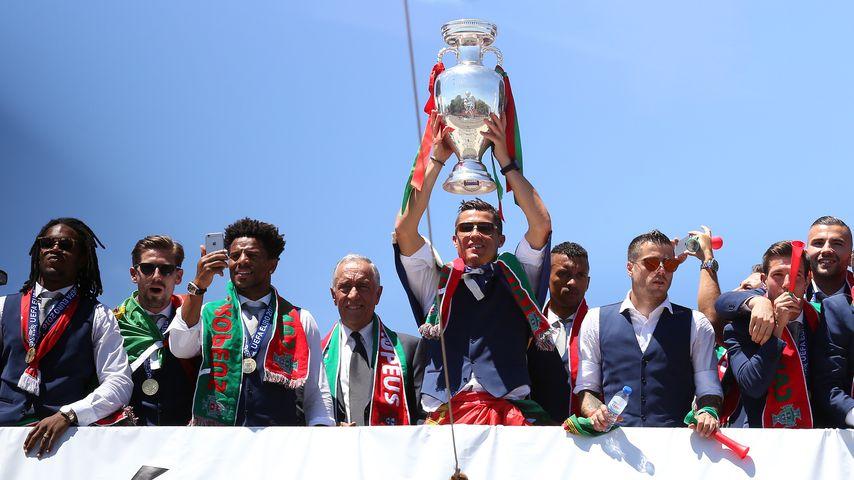 Cristiano Ronaldo und das portugiesische Team