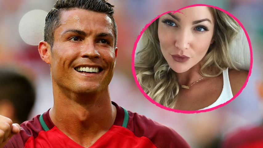 Heißer Pool-Flirt: Ist das Cristiano Ronaldos sexy Neue?