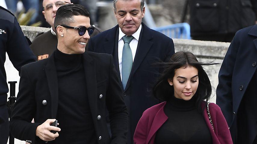Cristiano Ronaldo und Georgina Rodríguez