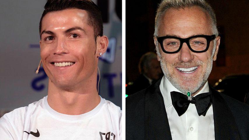 Sexy Moves! Cristiano Ronaldo macht auf Tanzbär Gianluca