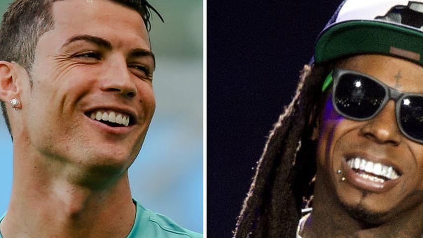 Kurios! Lil Wayne managt jetzt Cristiano Ronaldo