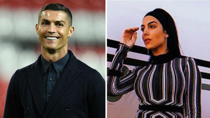 Wird Ronaldo wieder Papa? Georgina hat verdächtigen Bauch
