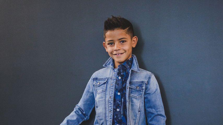 Cristiano Ronaldos Sohn Cristiano Ronaldo Jr.