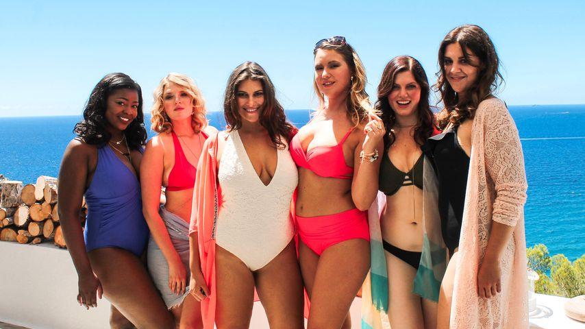Curvy Supermodels im Bikini