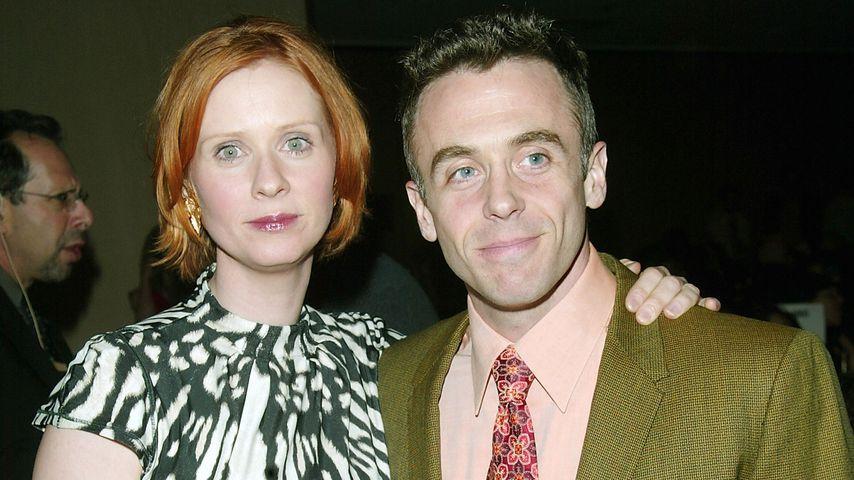 Cynthia Nixon und David Eigenberg bei den Glaad Media Awards, 2003