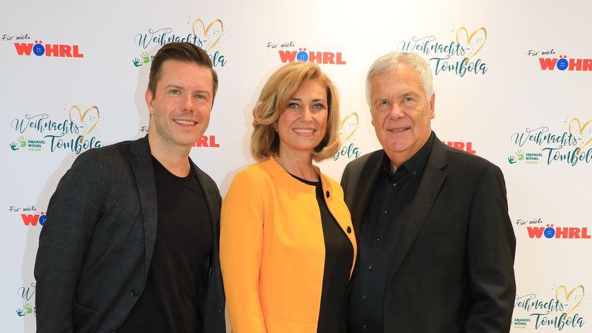 DHDL-Löwin Dagmar Wöhrl mit ihrer Familie bei Charity-Event