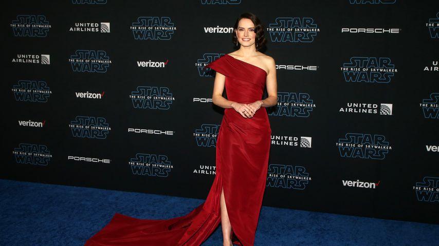 """Daisy Ridley auf der """"Star Wars""""-Premiere in Los Angeles im Dezember 2019"""