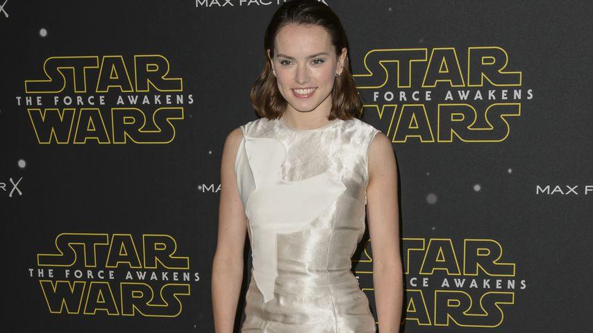 Pinkel-Panik wegen Star Wars: So nervös war Daisy Ridley