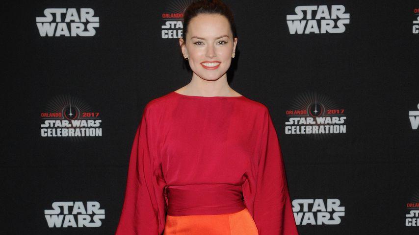 "Daisy Ridley beim ""Star Wars: The Last Jedi""-Panel in Orlando"
