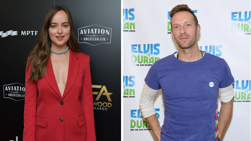 In Paris erwischt! Dakota Johnson & Chris Martin in Love?