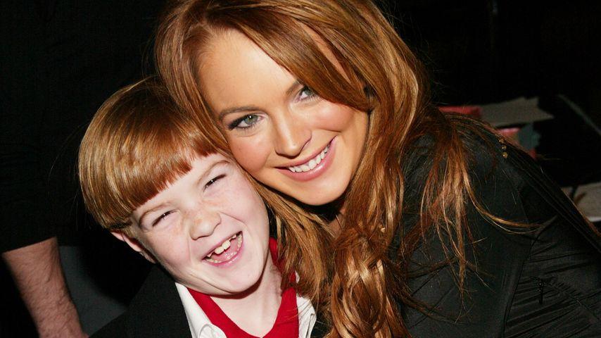 Dakota und Lindsay Lohan 2004