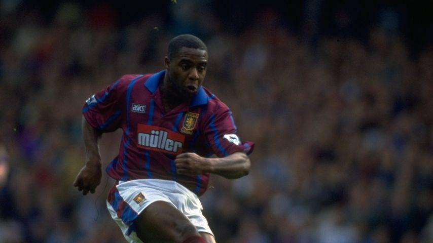 Dalian Atkinson vom Fußballclub Aston Villa im Jahr 1993