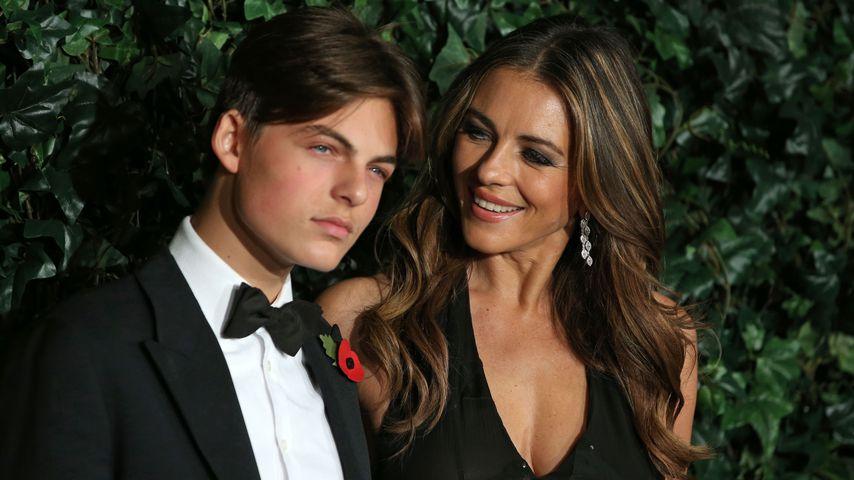 Liz Hurleys Sohn Damian soll nichts vom reichen Opa erben!