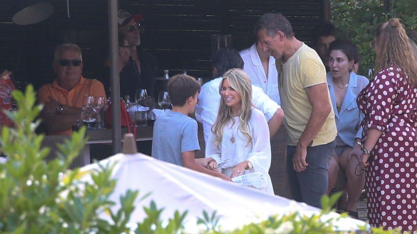 Damian van der Vaart und Sylvie Meis in Florenz, September 2020