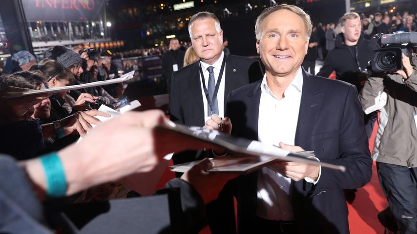 "Dan Brown, Deutschlandpremiere ""Inferno"", 2016"