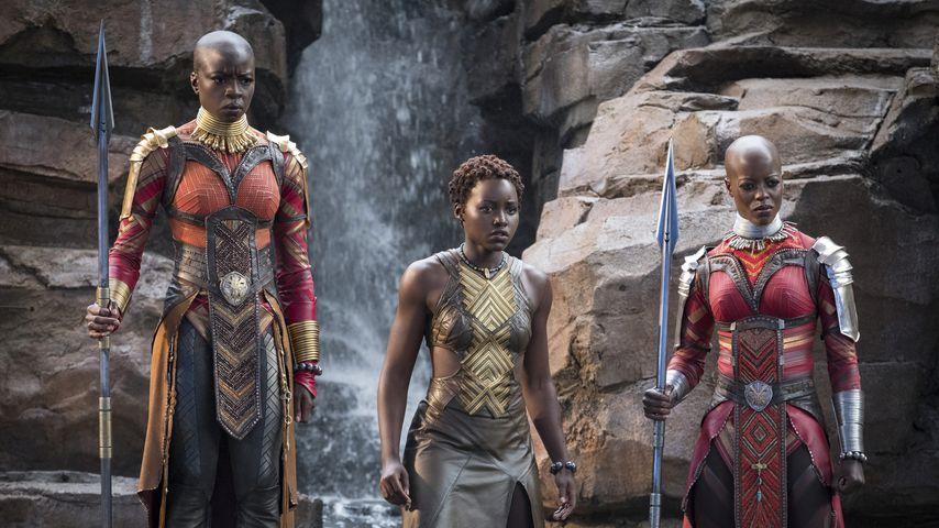 """Danai Gurira, Lupita Nyong'o und Florence Kasumba in """"Black Panther"""""""