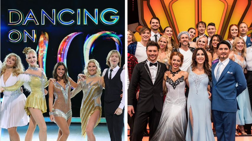 "Show-Duell: Kommt ""Dancing on Ice"" an ""Let's Dance"" heran?"