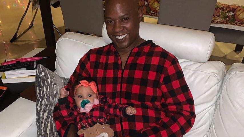 Daniel Charlier mit Töchterchen Amanda, Dezember 2019