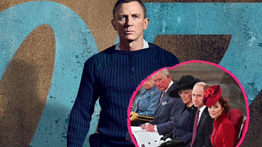 Bei der James-Bond-Weltpremiere wird Royal-Auflauf erwartet