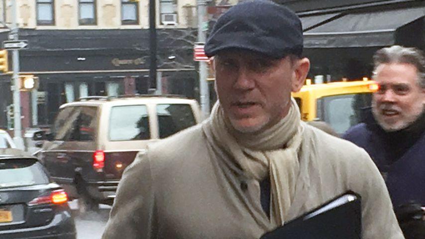 Schauspieler Daniel Craig in New York